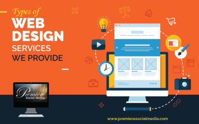 Types of Web Design Services We Provide